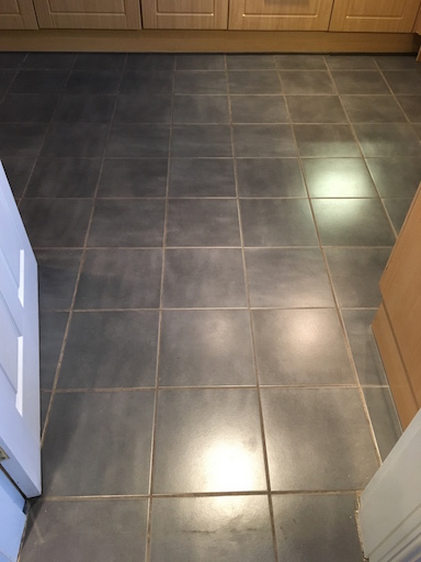 Ceramic Tile Cleaning in Oswestry Before